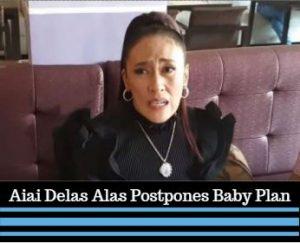 Filipino Actress Aiai Delas Alas Postpones Baby Plan