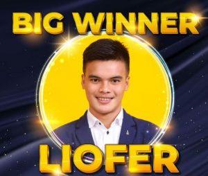 Liofer Pinatacan Winner of PBB Connect