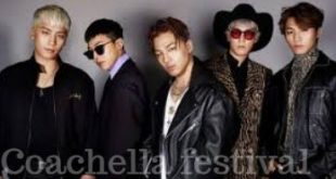 BIGBANG To Make Comeback via Coachella Festival