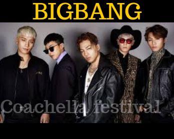BIGBANG To Make Comeback via Coachella Festival