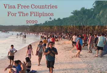 Visa Free Countries For The Filipinos in 2020
