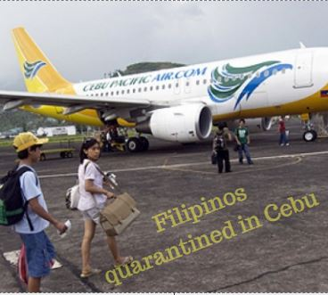 Filipinos Arriving from Taiwan Defiant in Cebu