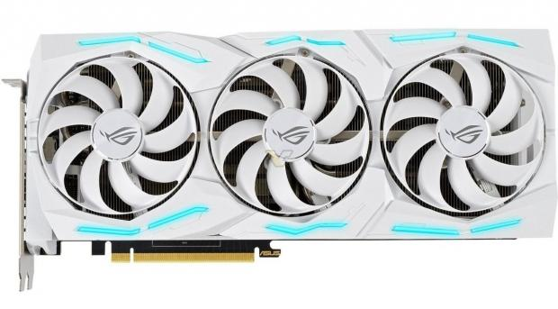 White version of the Asus ROG STRIX RTX 2080