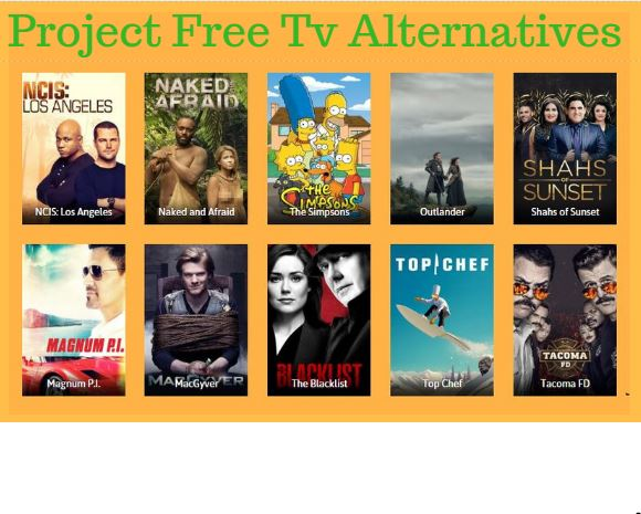 Project Free TV Alternatives 2020