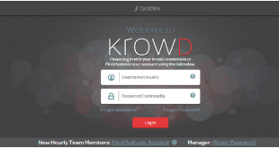 Krowd Darden Login @www.krowd.darden.com