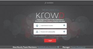 Krowd Darden Login @www.krowd.darden.com