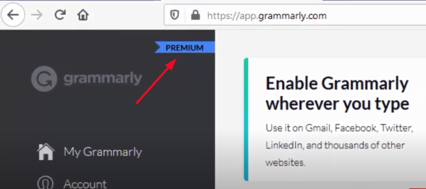 Grammarly Premium Account with out Cookies