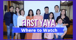 Where to watch GMA First Yaya