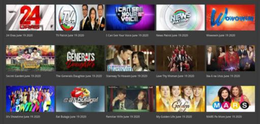 Free Pinoy TV Shows
