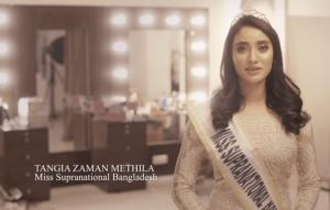 The Miss Universe Bangladesh Tangia Zaman Methila