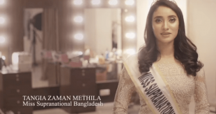 The Miss Universe Bangladesh Tangia Zaman Methila