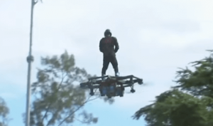 Pinoy flies hoverboard over Subic