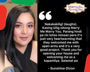 Marry Me Marry You Sunshine Dizon